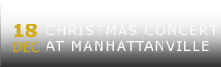 Christmas Concert at Manhattanville