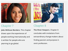 Four Colorado Academy alumni are featured in Compassionate Careers: Making a Living by Making a Difference, a book about people whose careers positively impact the lives of others.