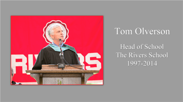 Farewell to Tom Olverson
