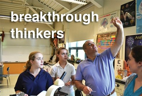 Breakthrough thinkers