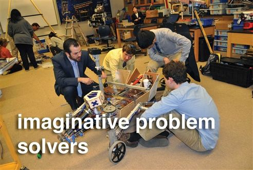 imaginative problem solvers