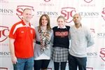 Signing Day For Girls' Soccer, Golf